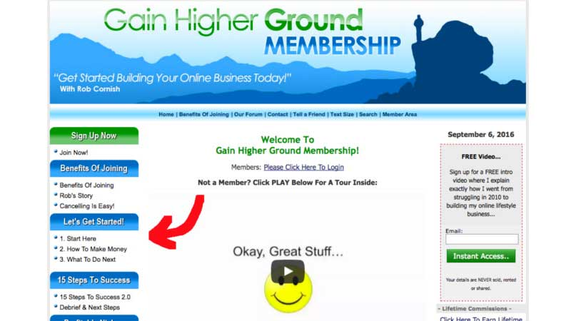 download pdf free Gain Higher Ground review