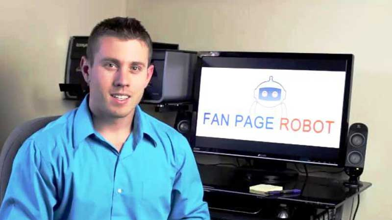 Fan Page Robot download
